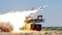 Suriye Ordusu: Düşmanın Füze Saldırısında Hedeflerine Ulaşması Engellendi