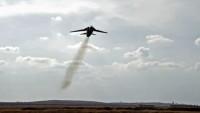 Suriye savaş uçakları, Dera'da bir yabancı casus merkezini bombaladı