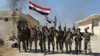 Suriye birliklerinden, teröristlere ağır darbe