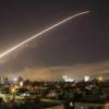 Suriye Ordusuna Ait Hava Savunma Sistemleri Siyonist İsrail Tarafından Fırlatılan Tüm Füzeleri Havada İmha Etti