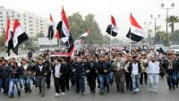 Şam Üniversitesi Öğrencileri, Suriye Ordusuna Destek İçin Yürüdü