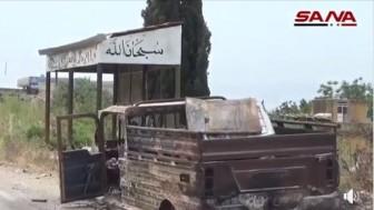 Hama Kırsalında 13 Terörist Öldürüldü