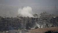 Suriye ordusu Şam'ın güneyindeki Madniye bölgesini IŞİD işgalinden kurtardı
