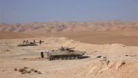 Homs Kırsalındaki Terörist Hedefler İmha Edildi
