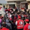 Afrin'den Tehcir Edilen 25 Bin Aileye İnsani Yardım Dağıtıldı