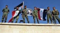Suriye Ordusu Halep'in Handarat Beldesinde İlerliyor