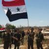 Suriye Ordusu Terörden Arındırılan Hmeydiye Köyüne Girdi