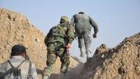 Suriye ordusunun operasyonları sürüyor
