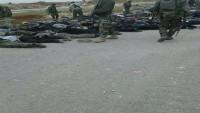 Suriye Ordusu Ateşkesi Bozan Teröristleri Taşıyan Yeşil Otobüslerin İçindeki Onlarca Terörist Tutuklandı
