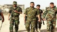 Suriye Kuvvetleri Irak ve Ürdün Sınırına Gönderildi