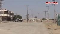 Suriye Ordusu Dera Ve Kunaytra Kırsallarında İlerliyor