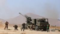Suriye birliklerinin teröristlere yönelik operasyonları sürüyor