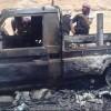 Deyrezzor'da Halk IŞİD'in 3 Aracını Havaya Uçurdu