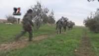 Suriye Ordusu, Deyr Hafir çevresindeki 5 köyü daha IŞİD'den temizledi!
