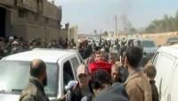 Doğu Ğuta'da Mağdur Sivilleri Tahliye Etme Çabaları Devam Ediyor