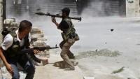 İdlib Kırsalında Cundul Aksa İle Ahraru Şam Teröristleri Arasında Şiddetli Çatışma