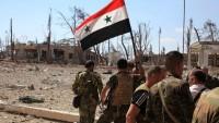 Suriye Ordusu El Cendul bölgesini teröristlerden temizledi