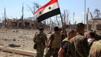 Suriye ordusu, Lazkiye'nin kuzey çevresindeki teröristlerin mevzilerini hedef aldı
