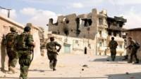 Suriye ordusu, teröristlerin mevzilerini hedef aldı