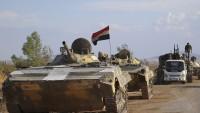 Suriye Ordusu teröristlerin son ikmal yolunu kesti