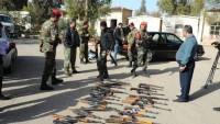 Suriye'de 700 terörist silahlarıyla birlikte Suriye ordusuna teslim oldu