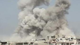 Suriye savaş uçakları teröristlerin mevzilerini bombaladı