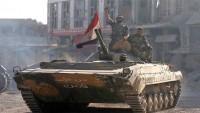 Suriye Ordusu Teröristlere Karşı Yoğun Hava ve Kara Saldırıları Başlattılar