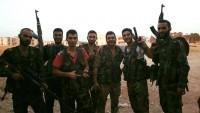 Foto: Halep kırsalı Kveyris Askeri Havalimanını savunan Suriyeli aslanlardan bir kare…
