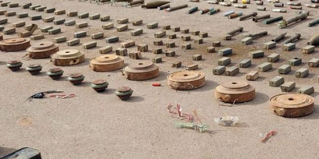 Suriye Ordusu Terör Yuvalarında İsrail ve ABD Menşeli Silahlar Buldu