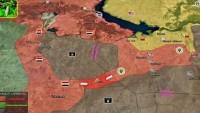 Suriye Ordusu Hanasir'deki IŞİD militanlarını kuşattı