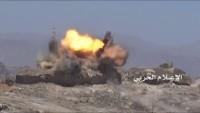 Yemen Hizbullahı Suud Ordusu İle İşbirlikçilerini Zilzal Füzeleriyle Vurdu