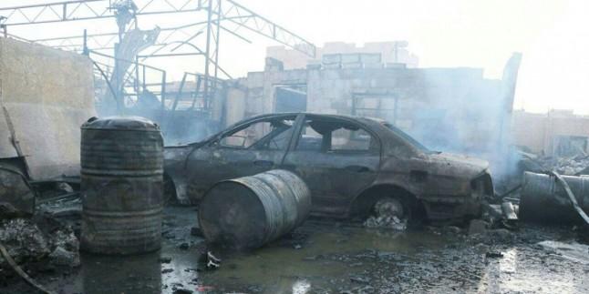 Suud Rejimine Ait Uçaklar Yemen'in Başkenti Sana'yı Bombaladı
