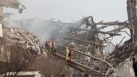 Çöken Plasco binasında kurtarma çalışmaları sürüyor