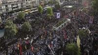 Tahran'da 270 şehid son yolculuğuna uğurlandı