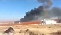 Video: Suriye Ordusu, Türkiye'ye Giden Petrol Tanker Konvoyunu İmha Etti