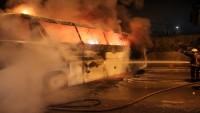 Tayvan'da turistleri taşıyan otobüste çıkan yangında en az 26 kişi öldü.