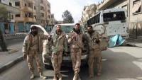 Palmira ve Tedmur Tamamen Suriye Ordusunun Kontrolünde