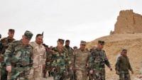 Suriye Genelkurmay Başkanı Tedmur Cephesini Ziyaret Etti
