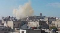 Ilımlı(!) Muhalifler Homs Kırsalındaki Sivilleri Füzelerle Hedef Aldı