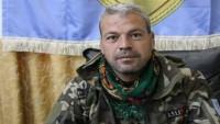 ABD Tarafından Kurdurulan Suriye Demokratik Güçlerinin Önemli Komutanı Öldürüldü