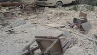 Tekfirci Teröristler Homs ve Şam Kırsalını Füzelerle Vurdu