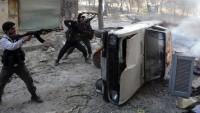 Şam'da teröristler arasındaki çatışmalar tekrar kızıştı
