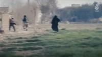 IŞİD Teröristleri Cepheye Kadınları Sürdü