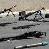 Suriye'de Ordusu Teröristlere Giden Cephaneliği Yakaladı