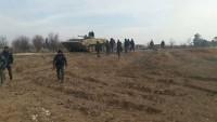 Suriye ve Hizbullah Mücahidleri Hama Kırsalı Ekseninde 30'dan Fazla Bölgeyi İşgalden Kurtardı