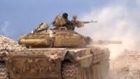 Homs Kırsalında IŞİD Teröristlerine Yönelik Operasyonlar Sürüyor