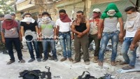 Halep'te Bazı Silahlı Gruplar Suriye Ordusuna Teslim Oldu