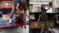 Video: ÖSO Teröristlerinden Alçakça Bir Katliam / 12 Yaşındaki Çocuğun Kafasını Kestiler
