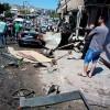 Eli Kanlı Teröristler, Suriye'nin Homs Kentine Bombalı Saldırı Düzenledi