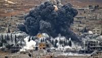 Irak Savaş Uçakları Teröristlerin Felluce Şehri Kırsalındaki Mevzilerini Vuruyor
